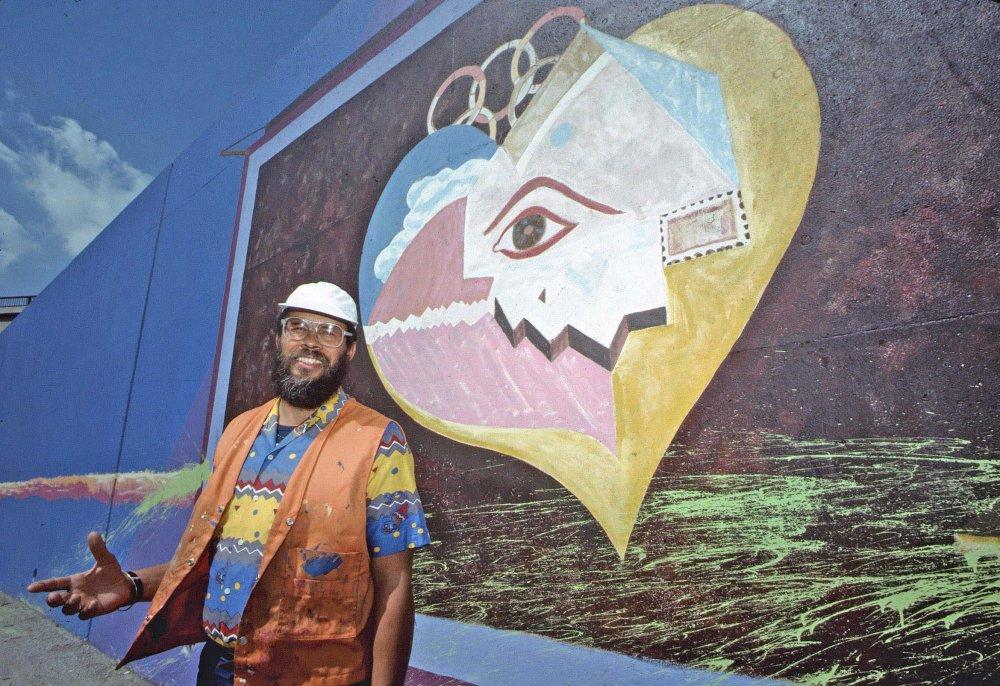 Alonso Davis, muralist