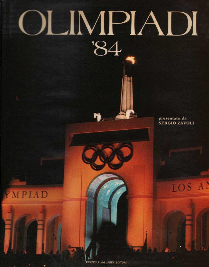 Olimpiadi \'84, Cover