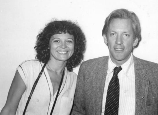 Elisa Leonelli, Donald Sutherland 1980